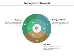Recognition Reward Ppt Powerpoint Presentation Inspiration Clipart Images Cpb