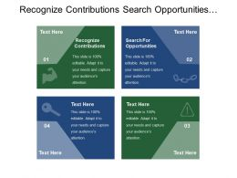 Recognize Contributions Search Opportunities Financial Sector Development