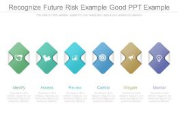 Recognize Future Risk Example Good Ppt Example