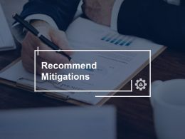 Recommend Mitigations Management Strategy Ppt Powerpoint Presentation File Visual Aids