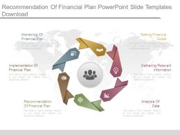 Recommendation Of Financial Plan Powerpoint Slide Templates Download