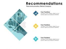 Recommendations Analysis Ppt Powerpoint Presentation Portfolio Good