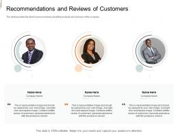 Recommendations And Reviews Of Customers Equity Crowd Investing Ppt Designs