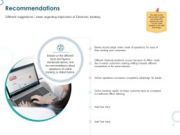 Recommendations Competitive Ppt Powerpoint Presentation Rules