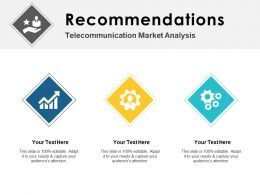 Recommendations Market Ppt Powerpoint Presentation Portfolio Graphics