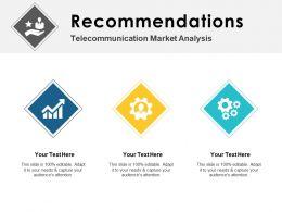 Recommendations Market Ppt Powerpoint Presentation Portfolio Graphics