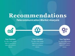 Recommendations Ppt Styles Visual Aids