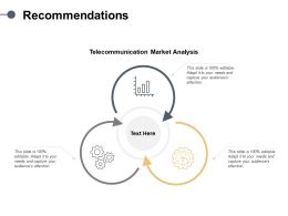 Recommendations Technology Ppt Powerpoint Presentation Professional Elements