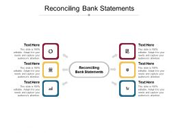 Reconciling Bank Statements Ppt Powerpoint Presentation Outline Design Inspiration Cpb