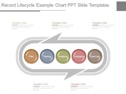 Record Lifecycle Example Chart Ppt Slide Templates
