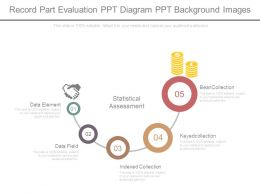 Record Part Evaluation Ppt Diagram Ppt Background Images