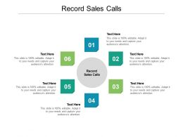 Record Sales Calls Ppt Powerpoint Presentation Pictures Examples Cpb