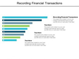 Recording Financial Transactions Ppt Powerpoint Presentation Layouts Show Cpb