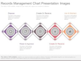 Records Management Chart Presentation Images