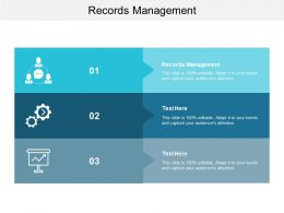 Records Management Ppt Powerpoint Presentation Picture Cpb