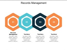 Records Management Ppt Powerpoint Presentation Professional Graphics Cpb
