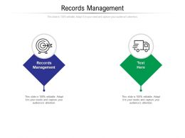 Records Management Ppt Powerpoint Presentation Slides Designs Cpb