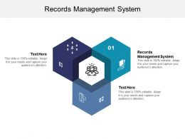 Records Management System Ppt Powerpoint Presentation Pictures Smartart Cpb