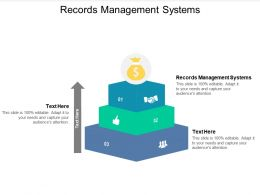 Records Management Systems Ppt Powerpoint Presentation Portfolio Inspiration Cpb