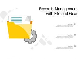 Records Management With File And Gear