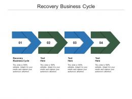 Recovery Business Cycle Ppt Powerpoint Presentation Outline Mockup Cpb