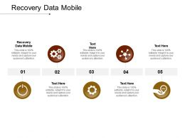 Recovery Data Mobile Ppt Powerpoint Presentation Styles Example Cpb
