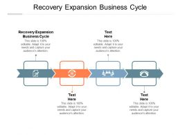 Recovery Expansion Business Cycle Ppt Powerpoint Presentation Guide Cpb