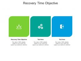 Recovery Time Objective Ppt Powerpoint Presentation Inspiration Background Cpb