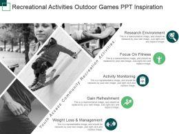 Recreational Activities Outdoor Games Ppt Inspiration