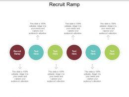 Recruit Ramp Ppt Powerpoint Presentation File Portfolio Cpb