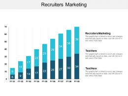 Recruiters Marketing Ppt Powerpoint Presentation Infographic Template Deck Cpb