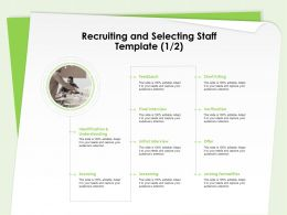 Recruiting And Selecting Staff Template Joining Formalities Ppt Templates Slides