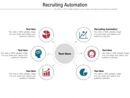 Recruiting Automation Ppt Powerpoint Presentation Gallery Display Cpb