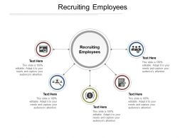 Recruiting Employees Ppt Powerpoint Presentation File Layout Cpb