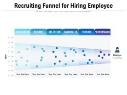 Recruiting Funnel For Hiring Employee