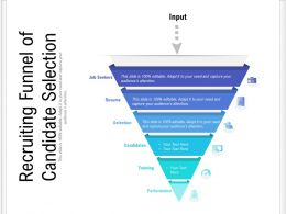Recruiting Funnel Of Candidate Selection