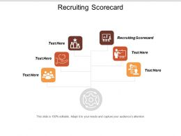 Recruiting Scorecard Ppt Powerpoint Presentation Icon Clipart Images Cpb