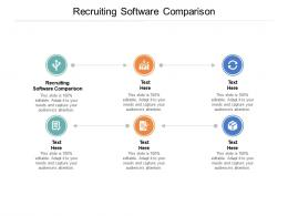 Recruiting Software Comparison Ppt Powerpoint Presentation Outline Show Cpb