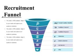 Recruitment Funnel Ppt Gallery