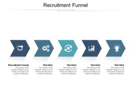 Recruitment Funnel Ppt Powerpoint Presentation Model Pictures Cpb