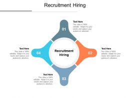 Recruitment Hiring Ppt Powerpoint Presentation Professional Cpb