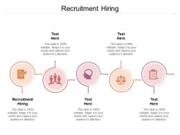 Recruitment Hiring Ppt Powerpoint Presentation Summary Inspiration Cpb