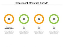 Recruitment Marketing Growth Ppt Powerpoint Presentation Graphics Cpb