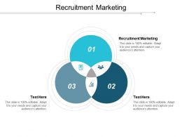 Recruitment Marketing Ppt Powerpoint Presentation Gallery Designs Download Cpb