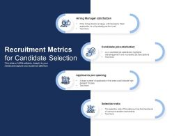 Recruitment Metrics For Candidate Selection