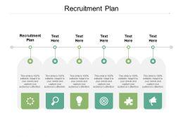 Recruitment Plan Ppt Powerpoint Presentation Outline Slides Cpb