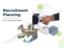 Recruitment Planning Powerpoint Presentation Slides