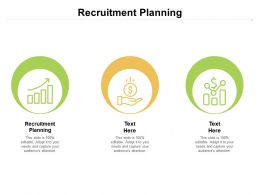 Recruitment Planning Ppt Powerpoint Presentation Formats Cpb