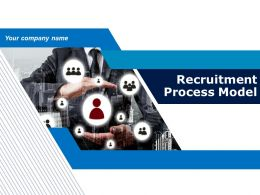 Recruitment Process Model Powerpoint Presentation Slides