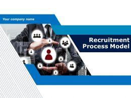 Recruitment Process Model Powerpoint Presentation Slides
